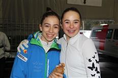 Eiskunstlaufwettbewerb Montafoner Schlittschuh