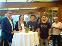 Empfang für Vize-Weltmeister Thomas Feuerstein