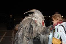 Erste Krampusshow in Tschagguns