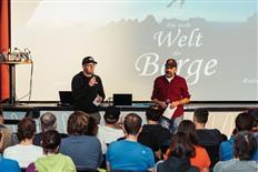 Impressionen des Bergfilmfestivals Gratwanderung