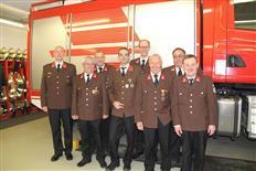 Jahreshauptversammlung der Feuerwehr Tschagguns