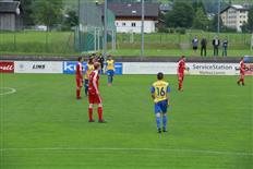 Match der Kampfmannschaft des FC Schruns gegen den SC Fußach