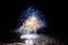 Neujahrs-Alpen-Klangfeuerwerk 2017
