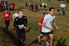 Schul Olympics im Cross Country Laufen 2