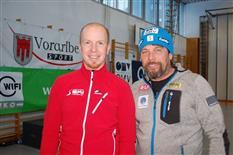 Siegerehrung der österreichischen Meisterschaften Jugend Skisprung