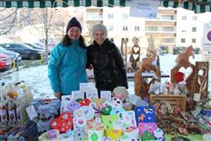 Stimmungsvoller Reha-Weihnachtsmarkt