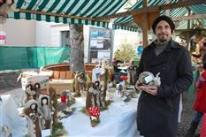 Traditioneller Silbriga Sonntig Markt