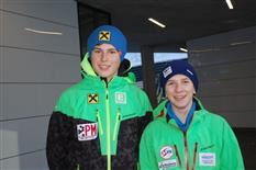Training der östereichischen Jugendspringmeisterschaften