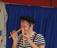 Clown Dido zu Besuch