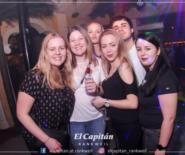 Der Captain lädt die Ladies ein