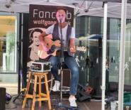 Wolfgang Frank live beim FLAX am Garnmarkt