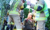 Übungsannahme Brand im Kinderhaus