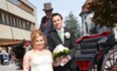 Bianca Brunner und Willi Schruttke haben geheiratet