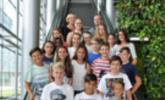 2b der Mittelschule Kirchdorf zu Besuch bei Russmedia