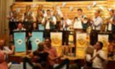 """Nicht nur auf der """"Münchner Wiesn"""" wird gefeiert, auch in Lochau ging bei stimmungsvoller Blasmusik und bester Bewirtung so richtig die Post ab."""