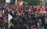 Demonstration für Aleppo in Bregenz