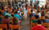 Militärmusikanten zu Gast bei den Schülern der Volksschule Lochau