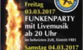 Einladung Funkenabbrennen Gantschier