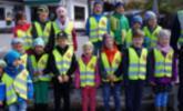 Polizei zu Besuch im Kindergarten Übersaxen