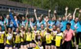 Sieger im Faustball Schulcup
