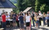 Gottesdienst  bei der Kapelle Fronhofen
