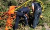 Hubschrauber in Dalaas abgestürzt