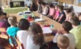 Sozialsprengel Raum Bludenz veranstaltet Vorlesestunde an Schulen.