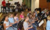 Musikvereinsjugend lud nach dem Ferienlager zum großen Konzert