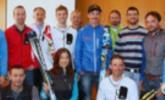 Fünf Topathleten im Skibergsteigen