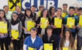 Raiffeisen-Bewerbungsseminar für die Schüler aus den drei 4. Klassen der Mittelschule Hörbranz