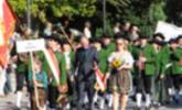 Gaißauer Musikanten beim Fest in Höchst