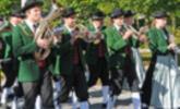 Musikanten aus Möggers beim Fest in Höchst