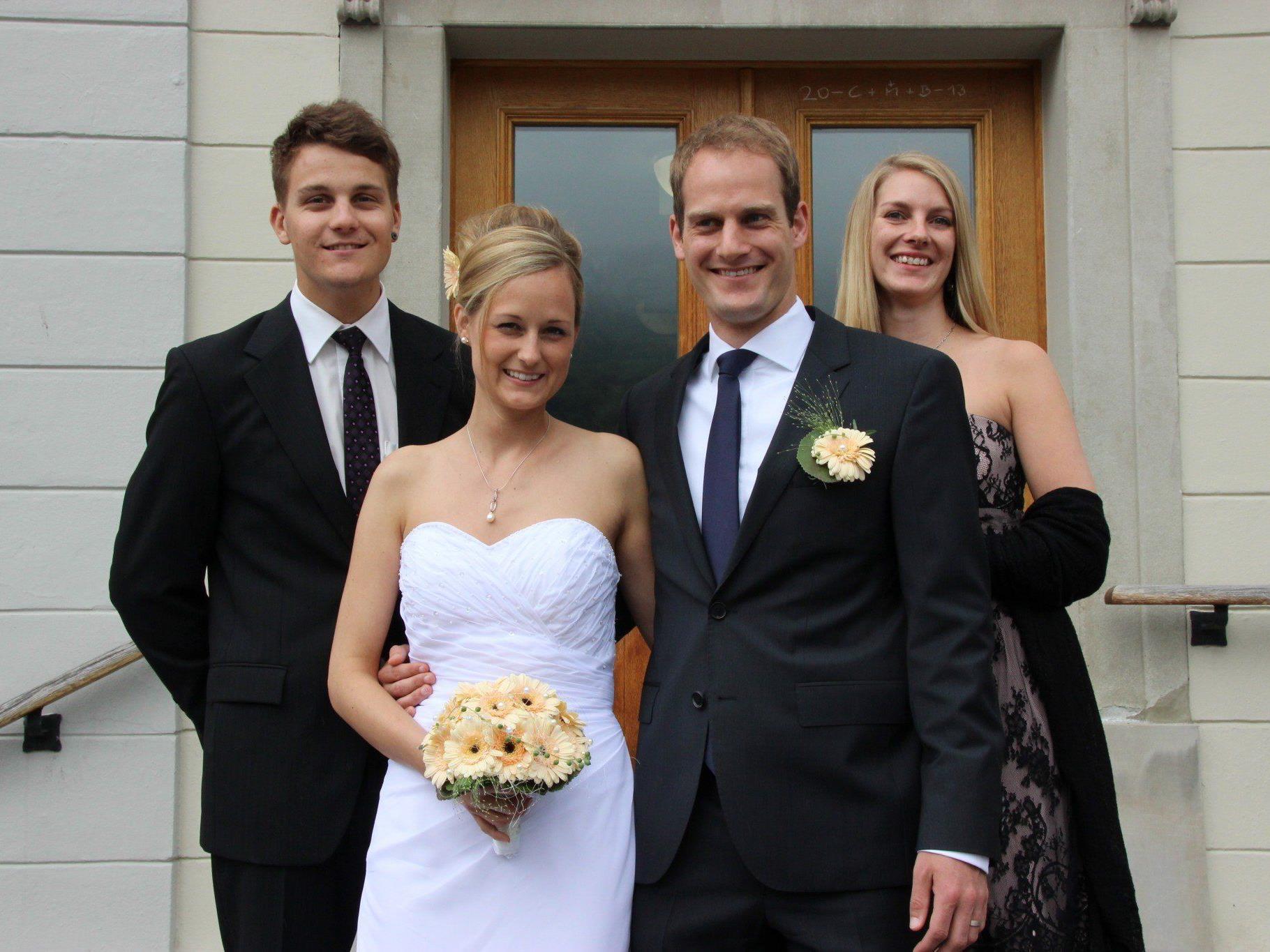 Hochzeit von Jennifer Wachter und Florian Fahr - Schruns   VOL.AT