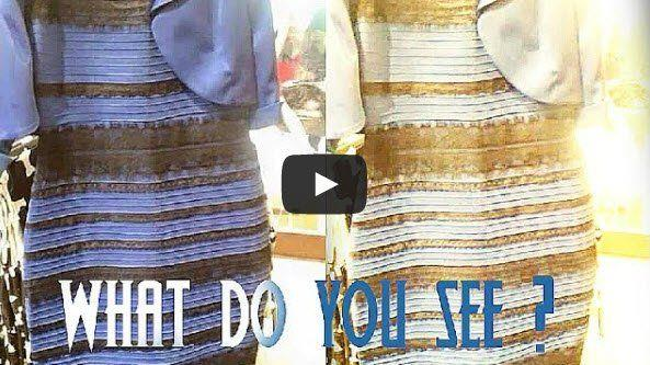 #dressgate: Ist dieses Kleid blau-schwarz oder gold-weiß ...