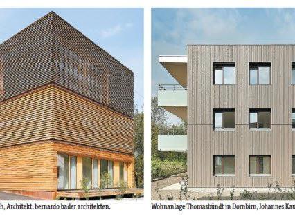 Holzfassaden sind modern und gleichzeitig traditionell for Traditionell modern bauen