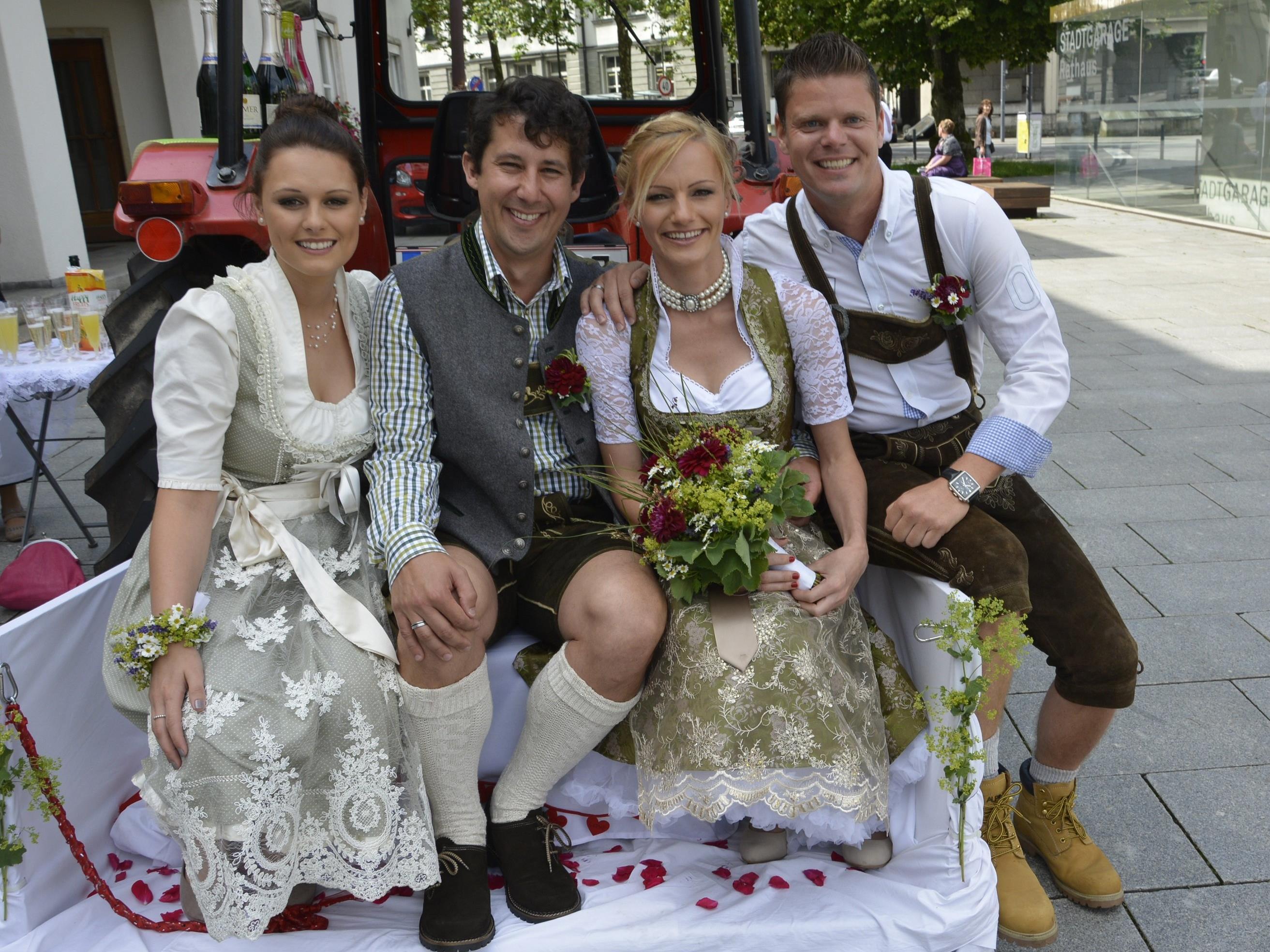 Hochzeit von Michaela Vonbrül und Andreas Landa - Dornbirn   VOL.AT
