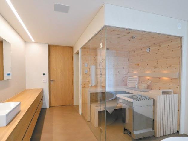 wellnesspur – Sauna im Badezimmer - Bauen und Wohnen 1 -- VOL.AT