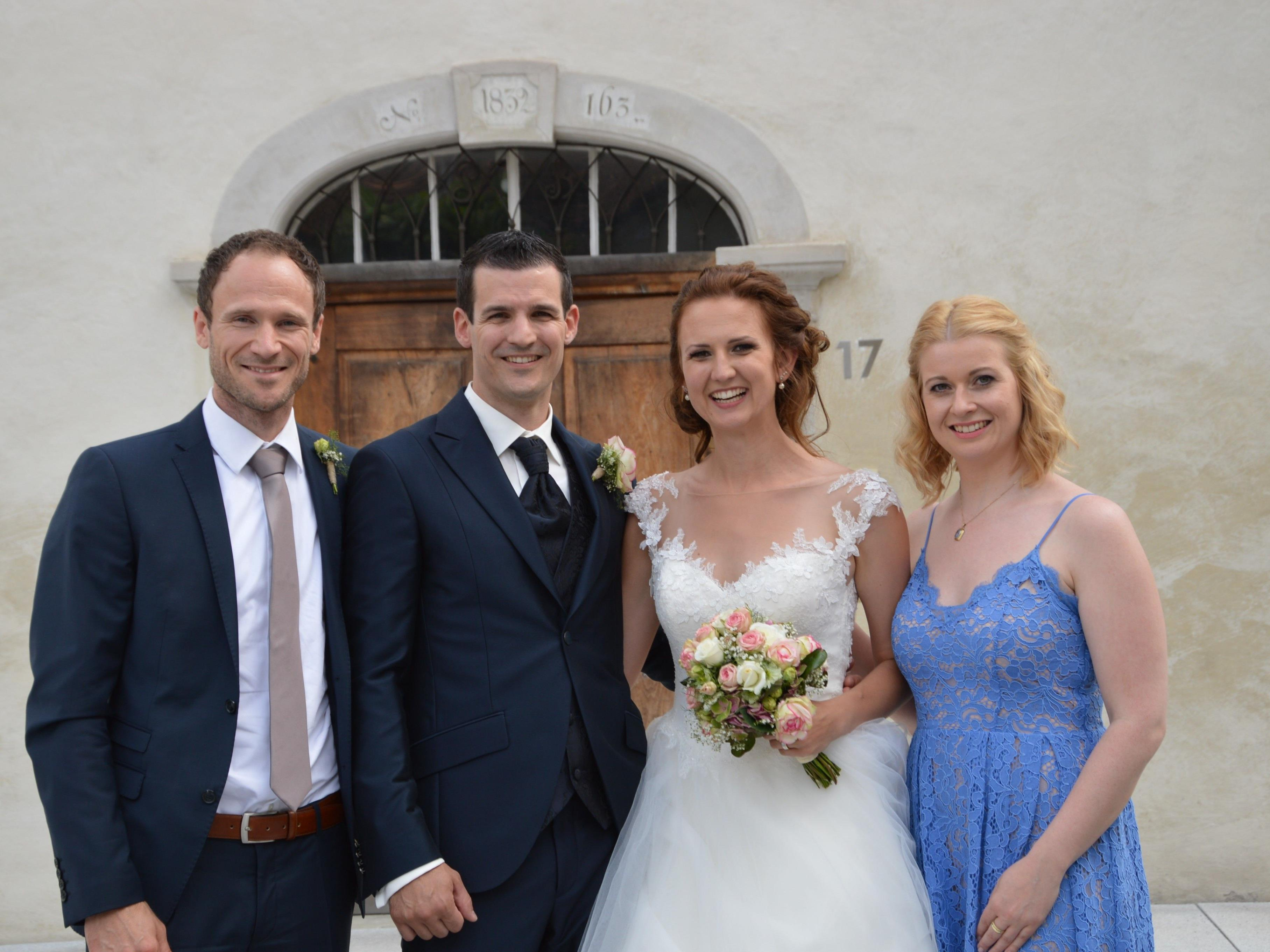 Hochzeit von Judith Bertignoll und Klaus Hanspeter - Dornbirn   VOL.AT