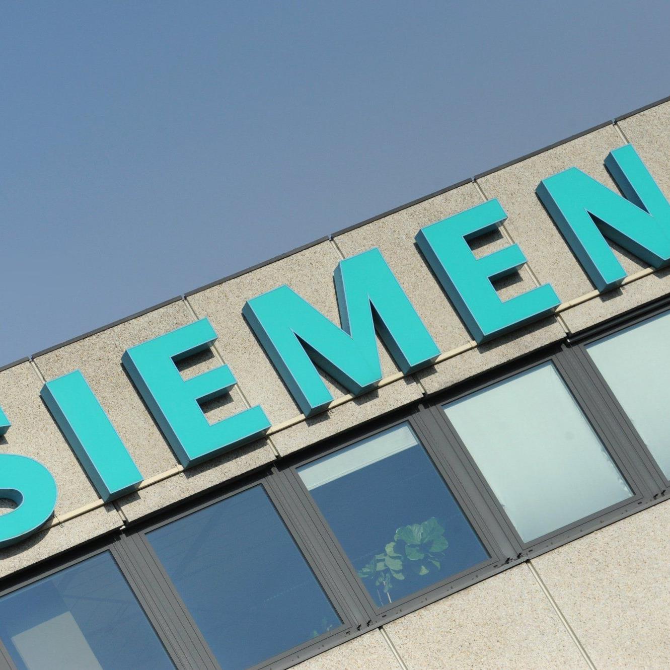 Gebäude der Siemens AG.