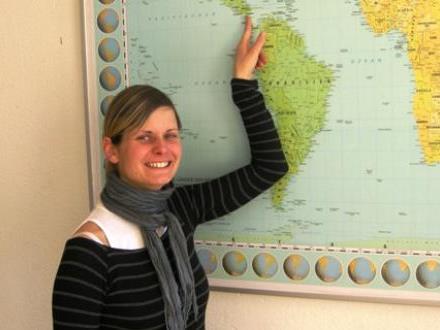 Annette Sohler freut sich auf Honduras