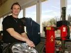 """Kurt Mathis ist seit vielen Jahren Vertragspartner der Reifenfirma """"Yokohama"""""""