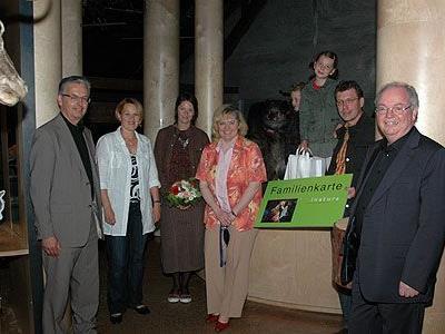 Bürgermeister DI Wolfgang Rümmele begrüßte mit Familie Druml