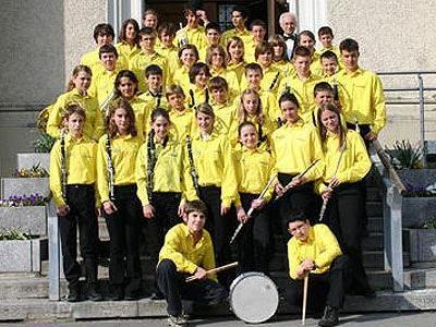 Die Jugendkapelle der MG Hatlerdorf blickt auf erfolgreiche 50 Jahre zurück.