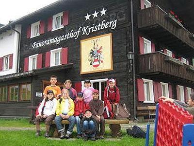 Die Schüler waren eine Woche lang in Vorarlberg unterwegs