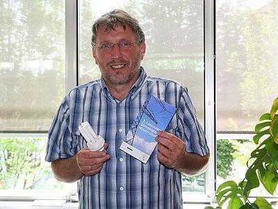 Die Stromspar-Aktion wird vom Umweltkoordinator Stefan Küng organisiert.