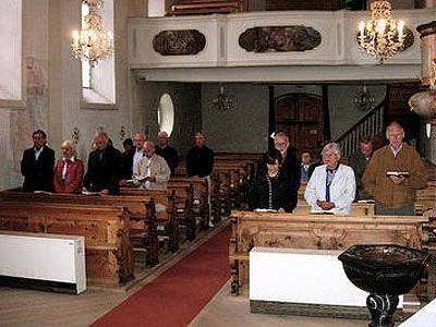 In der Pfarrkirche Lech feierten die beiden Bischöfe eine Messe für die Maturajahrgänger.