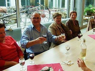 Seniorenausflug nach Liechtenstein.
