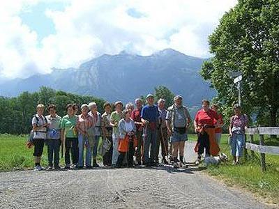 Bangs-Matschels war das Ziel der unermüdlichen Wanderer(innen) des Seniorenbundes Zwischenwasser.