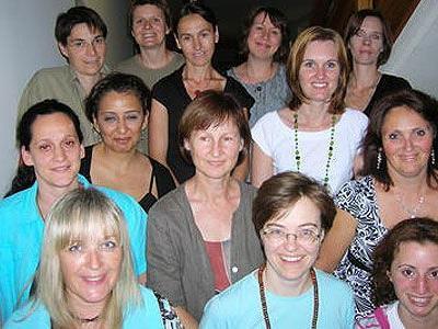 """Das Team der """"Ringareia""""-Betreuerinnen."""