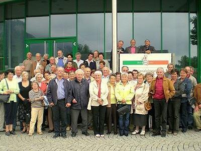 Die Firma efef, Stoffels Säge-Mühle und das Landhaus besuchten die rührigen Senior(inn)en.